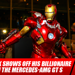 Tony Stark Shows Off His Billionaire Style with the Mercedes-AMG GT S