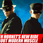 The Green Hornet's New Ride is All About Modern Muscle