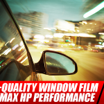 Find Top-Quality Window Film in BlackMax HP Performance